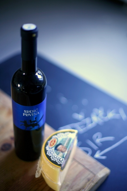 The perfect partner for our Mladi Trapist - Sladić Plavina '11