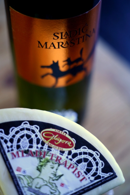 The perfect partner for our Mladi Trapist - Licorice Maraština '12