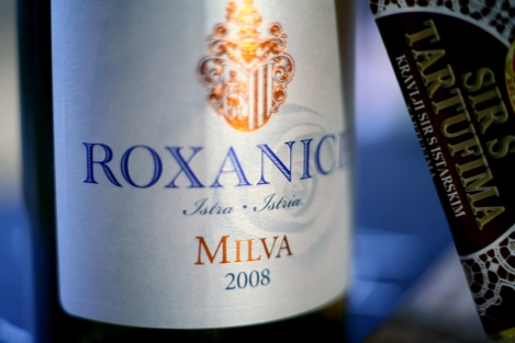 The perfect partner for our Sir s Tartufima - Roxanich Milva '08