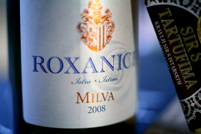 The perfect partner for our Kupidov Sir - Roxanich Milva '08