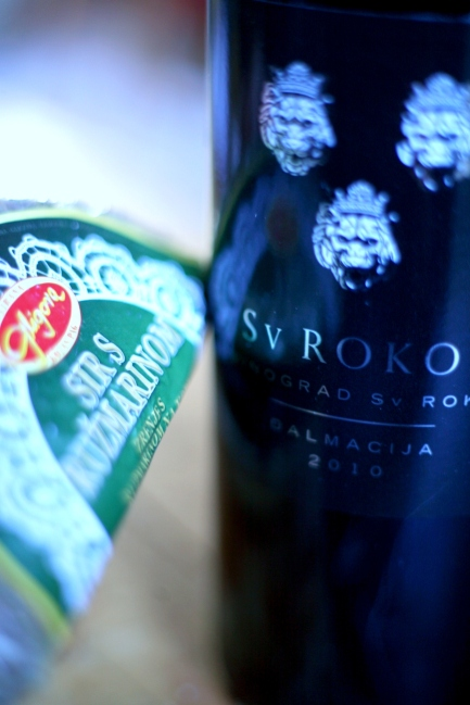 The perfect partner for our Sir s Ružmarinom - St. Hills Sv. Roko '10