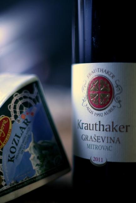 The perfect partner for Kozlar - Krauthaker Graševina Mitrovac '11